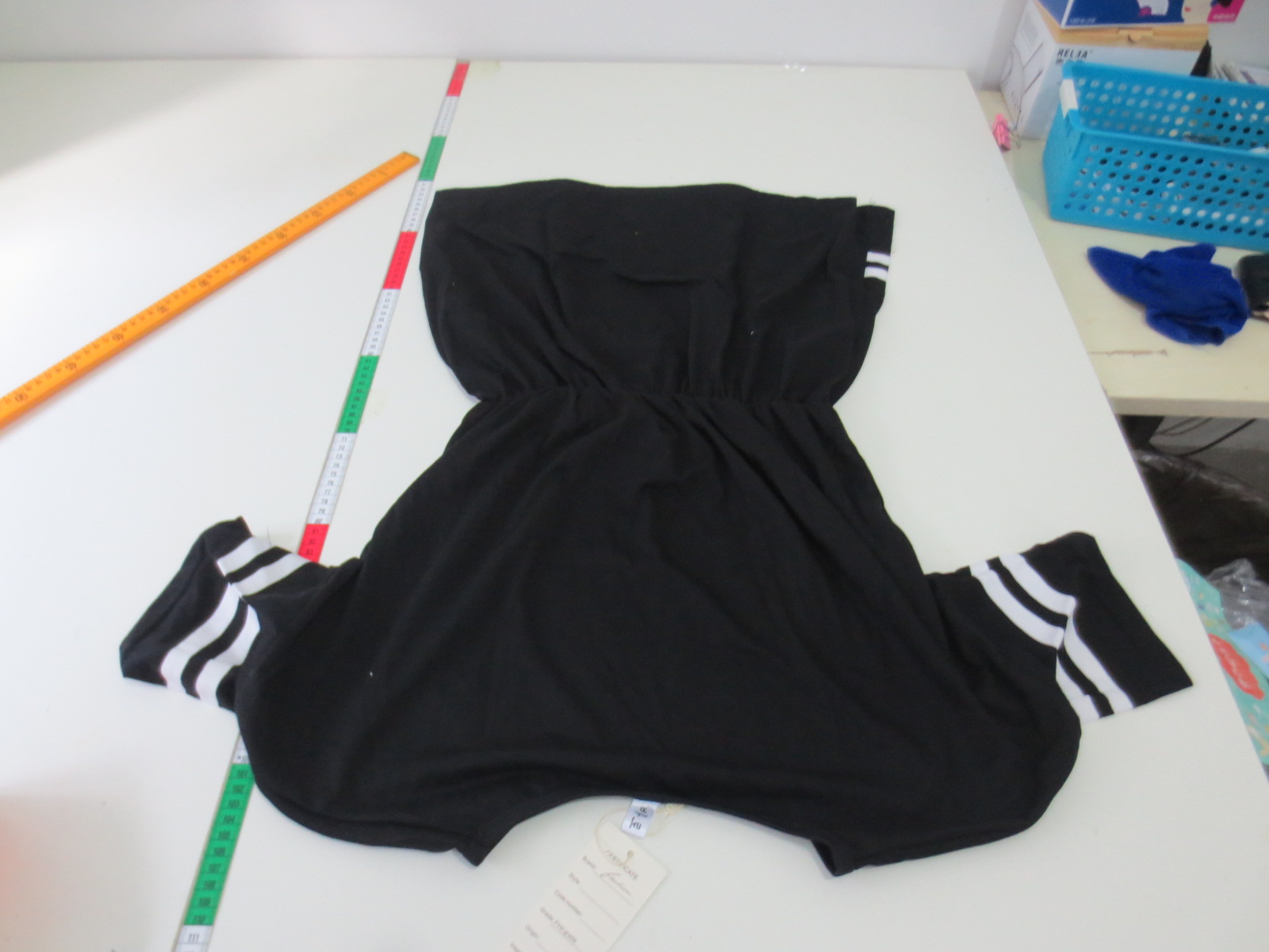 Женское платье 2015 году лето плавности движения Департамента, пять рукава Колледж девочек Harajuku ВМФ письма бейсбол одежда платья женщин